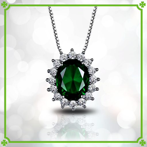 Luck of the Irish™ Emerald Necklace