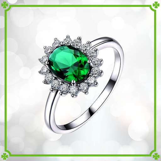 Luck of the Irish™ Emerald Ring