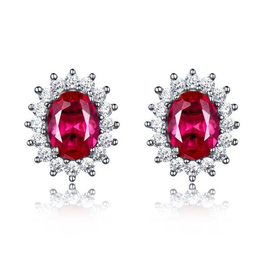 Lush of Grace™ Ruby Earrings