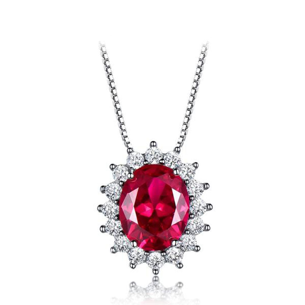 Lush of Grace™ Ruby Necklace