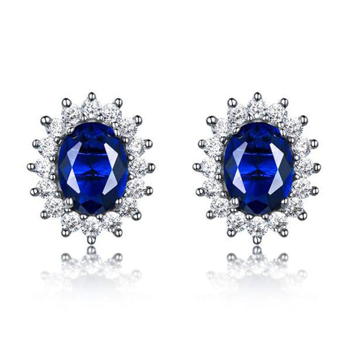 Lush of Grace™ Sapphire Earrings