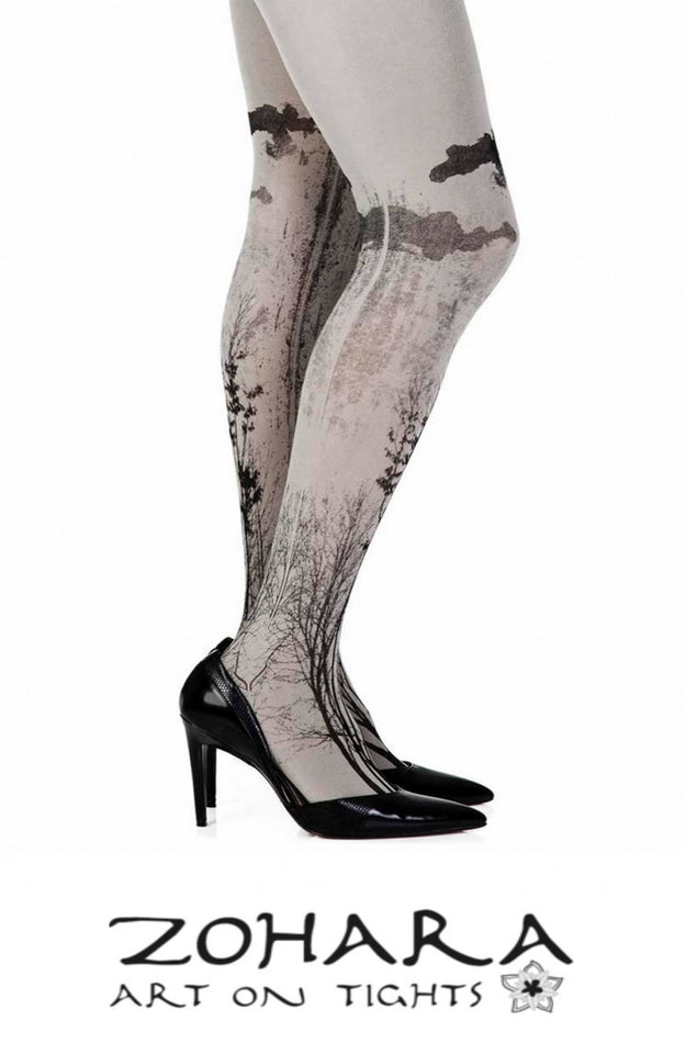 ZOHARA ART ON TIGHTS COLLECTION STOCKED BY MERCHANTS DEN