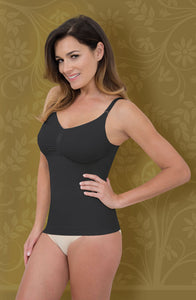 Control Body Firm Compression Camisole - Nero