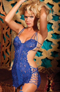 Shirley of Hollywood SoH 25246 Chemise Royal Blue