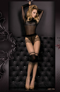 Ballerina 356 Tights Skin / Nero (Black)