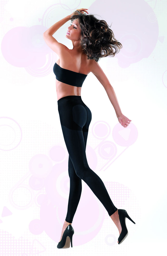 Control Body 610088 Leggings - Nero