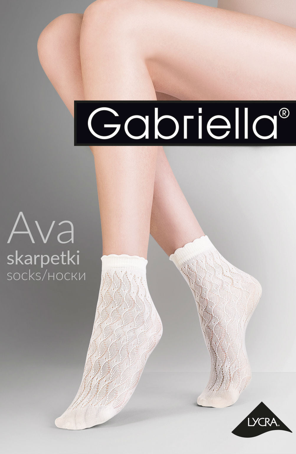 Gabriella Ava Socks 693 - Nero (Black)