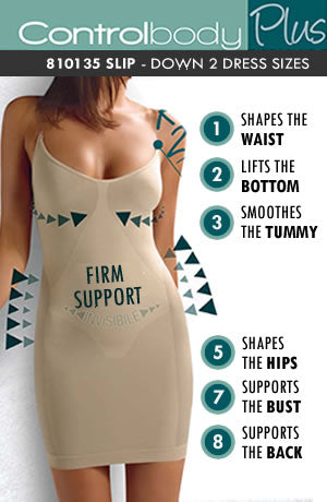 Control Body Shaping Slip - Firm Support - Various
