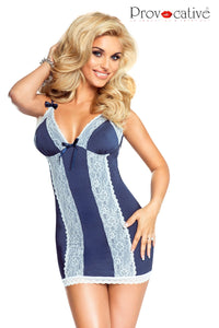 Provocative Comme Une Evidence Chemise Blue/white