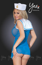Load image into Gallery viewer,  YESX YX119 SAILOR DRESS COSTUME - BLUE/RED