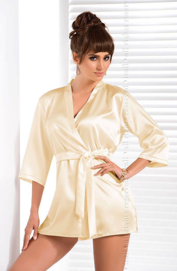 Irall Aria Dressing Gown Cream
