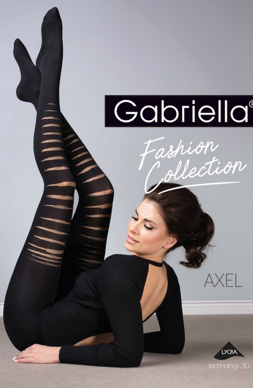 Gabriella Axel Tights 403 - Nero (Black)