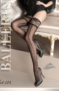 BALLERINA 124 HOLD UP - NERO (BLACK)