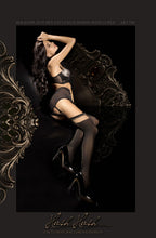Load image into Gallery viewer, BALLERINA 289 STOCKINGS - BLACK