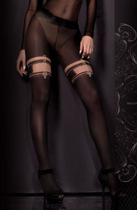 BALLERINA 306 TIGHTS HOSIERY NERO/SKIN