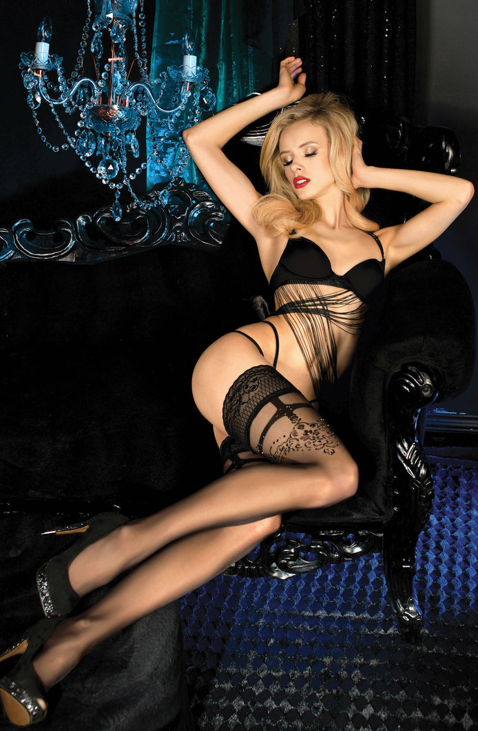 BALLERINA 451 Hold Ups Nero (Black)