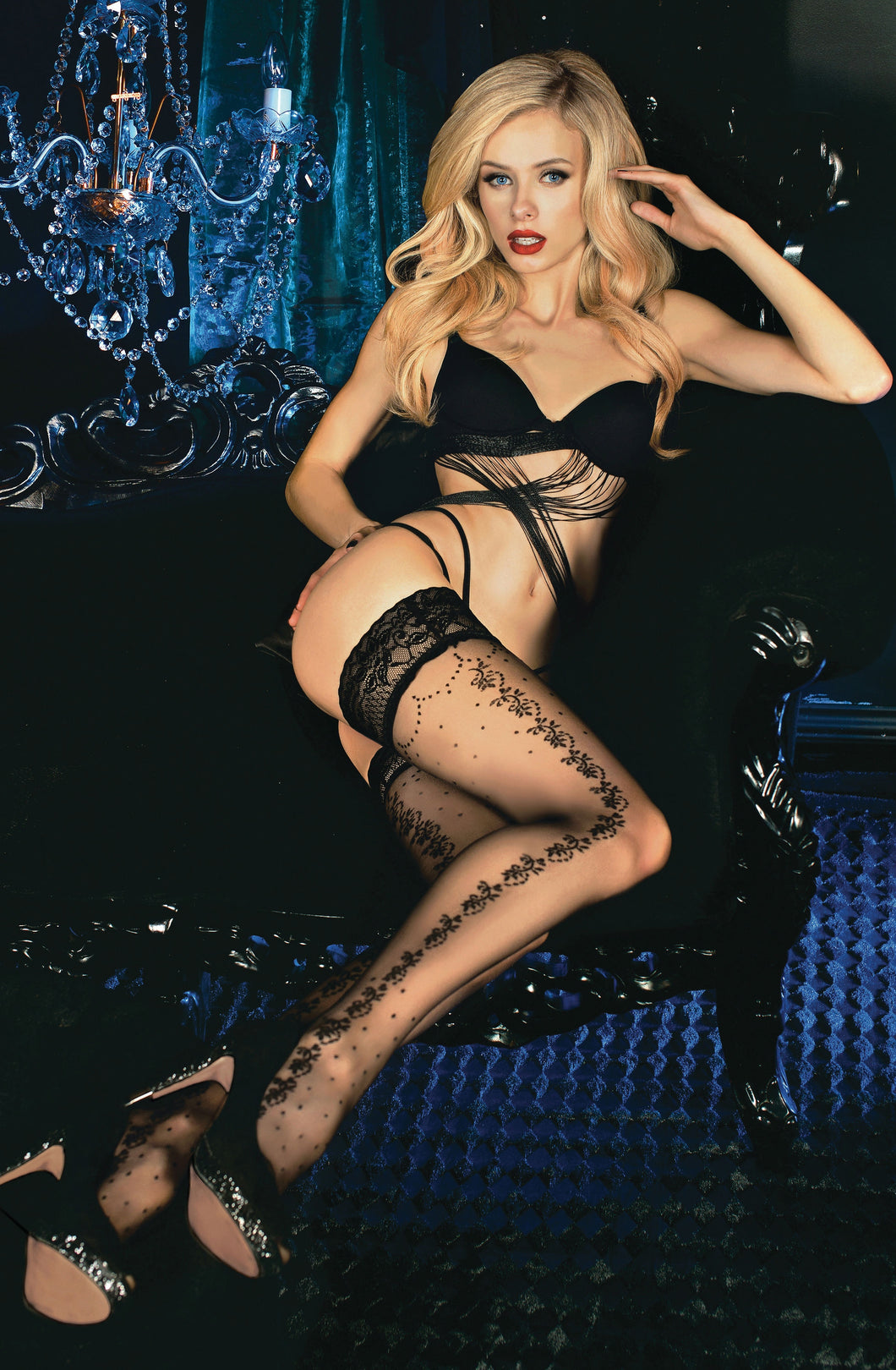 BALLERINA 452 Hold Ups Nero (Black)
