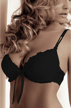 Load image into Gallery viewer, ROZA CARMEN PUSH UP BRA BLACK
