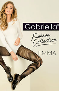 Gabriella Emma Tights 418 - Black