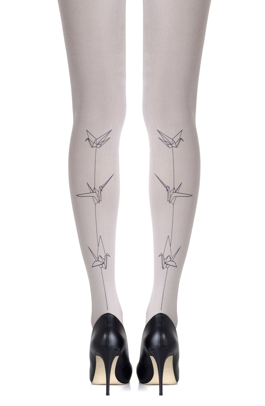 ZOHARA F369-LGB Light Grey Hosiery