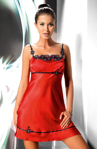 IRALL MIRABELLE II NIGHTDRESS - RED