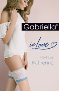 Gabriella Calze 473 Katherine Natural/Blue Hosiery
