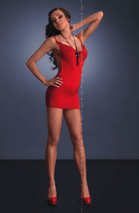 ME SEDUCE Lara CLUBWEAR DRESS Red