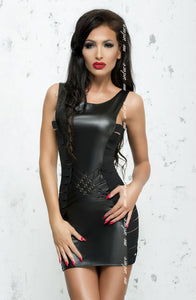 ME SEDUCE Lea CLUBWEAR DRESS Black