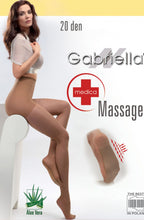 Load image into Gallery viewer, GABRIELLA CLASSIC MEDICA MASSAGE 20 TIGHTS HOSIERY 117 - BEIGE