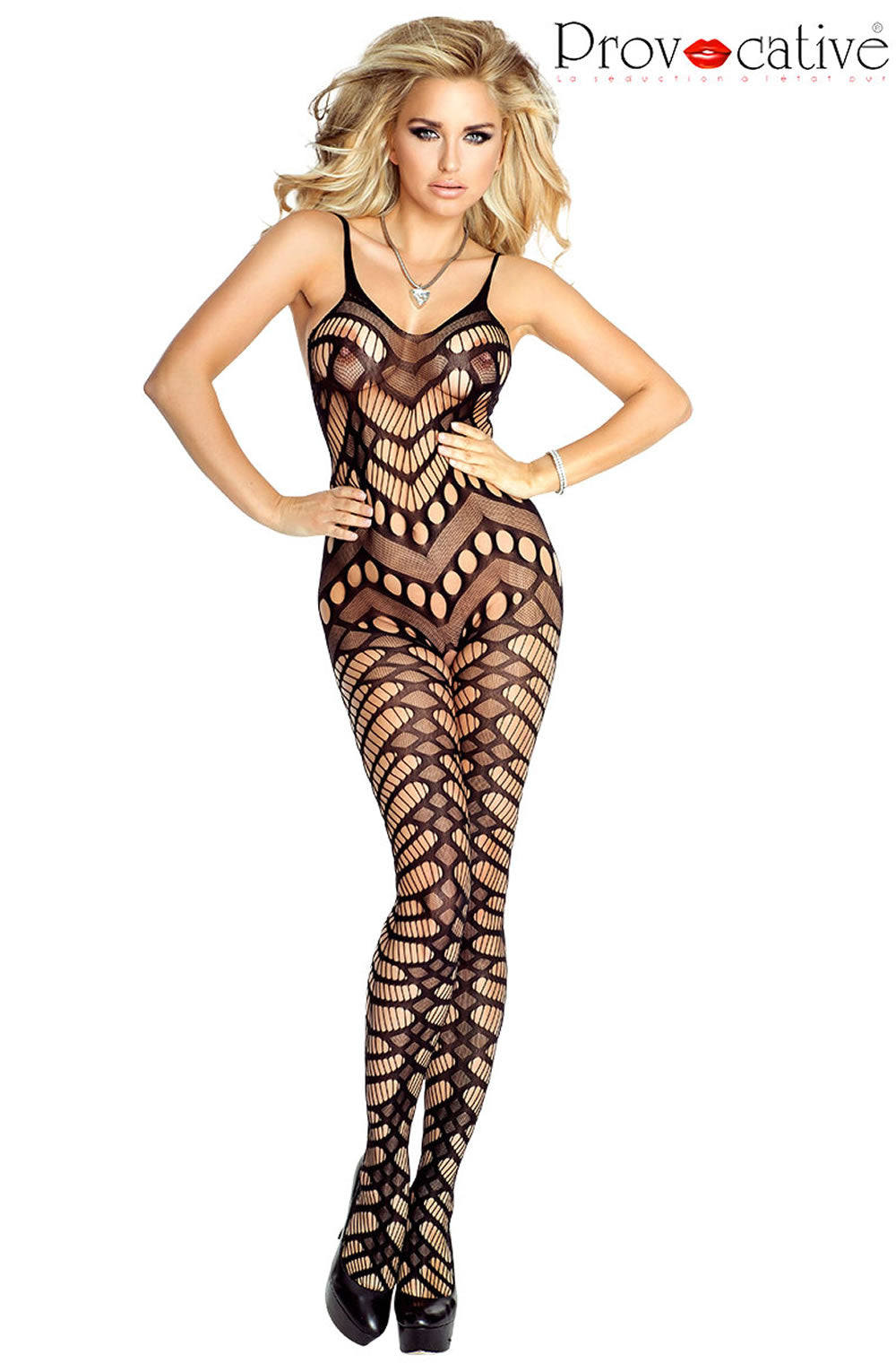 PROVOCATIVE PR4688 Bodystocking Black