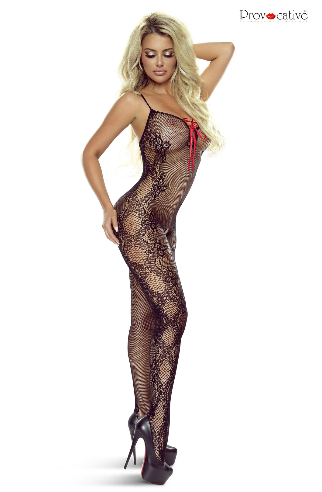Provocative PR4916 Bodystocking Black