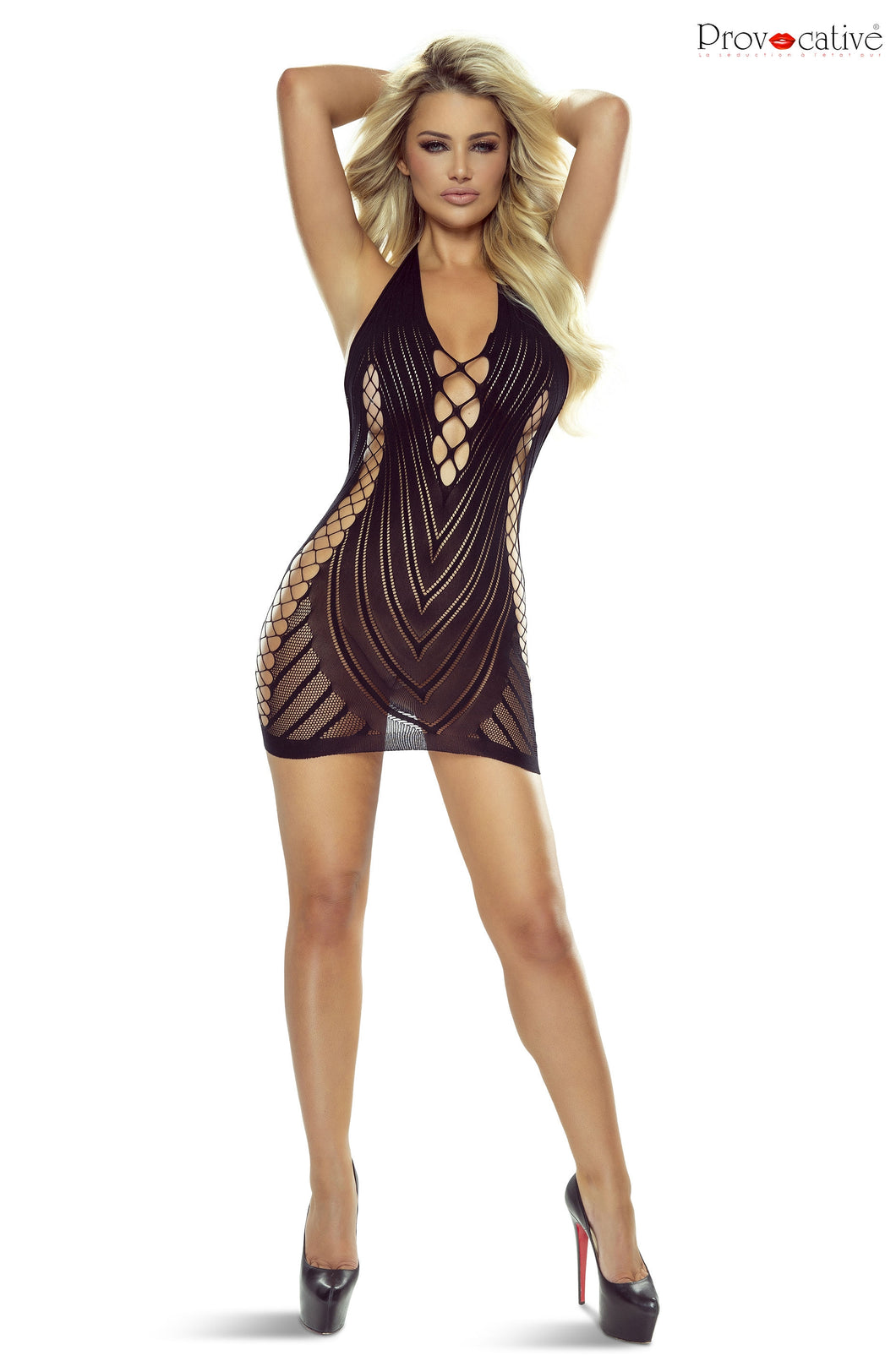 Provocative PR4958 Sexy Dress Black