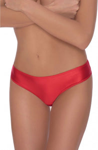 ROZA ALI BRIEF RED