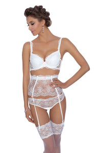 ROZA AMBRE PUSH-UP BRA WHITE
