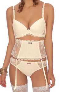 ROZA FIFI PUSH UP BRA IVORY