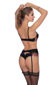 ROZA NATALI PUSH UP BRA BLACK