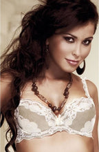 Load image into Gallery viewer, ROZA SAFIRA PUSH UP BRA CREAM/KHAKI