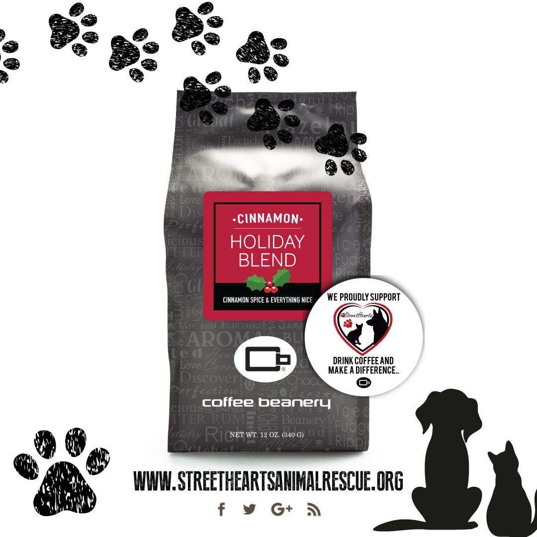 Coffee Beanery + Streethearts Animal Rescue
