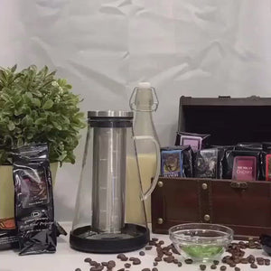 Treasure Chest of Coffee Gift Basket