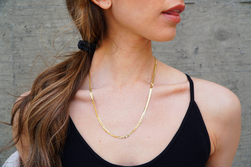 Mega Layered Malibu Necklace