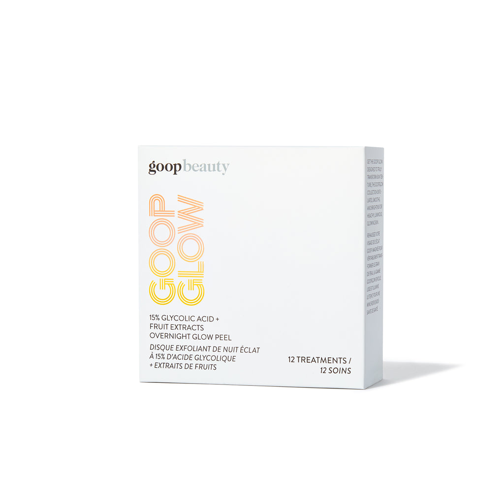 Goop GOOPGLOW 15% Glycolic Overnight Glow Peel - 12 Pack