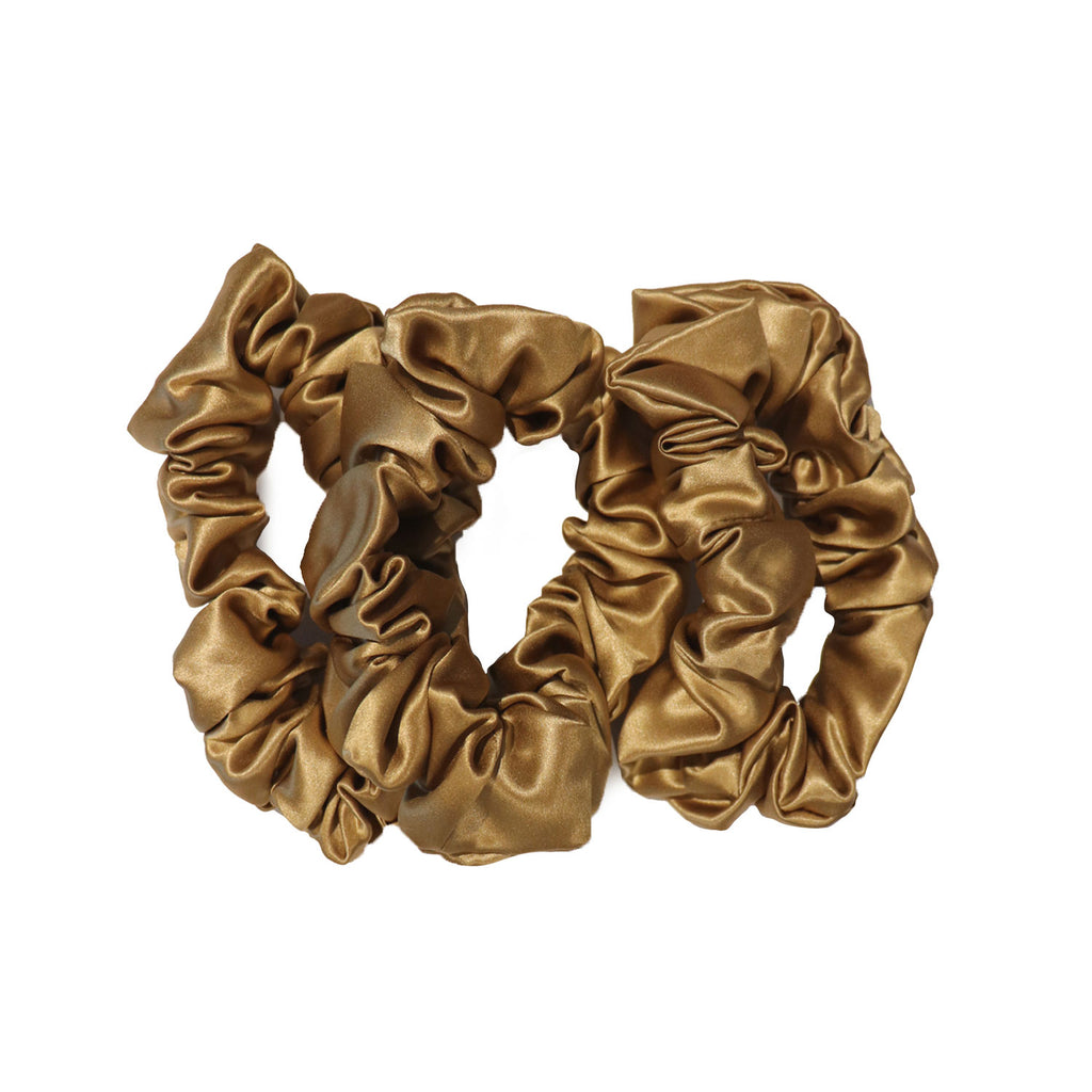 Pure Silk Large Scrunchies