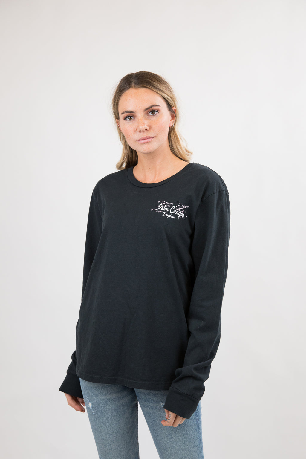 Palm Canyon 90s Long Sleeve Tee