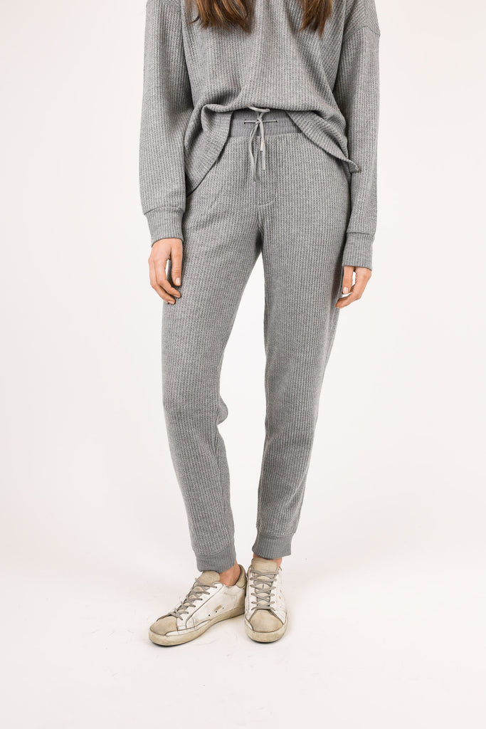 Waffle Pull-On Pant