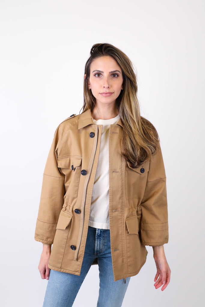 Cotton Twill Army Jacket