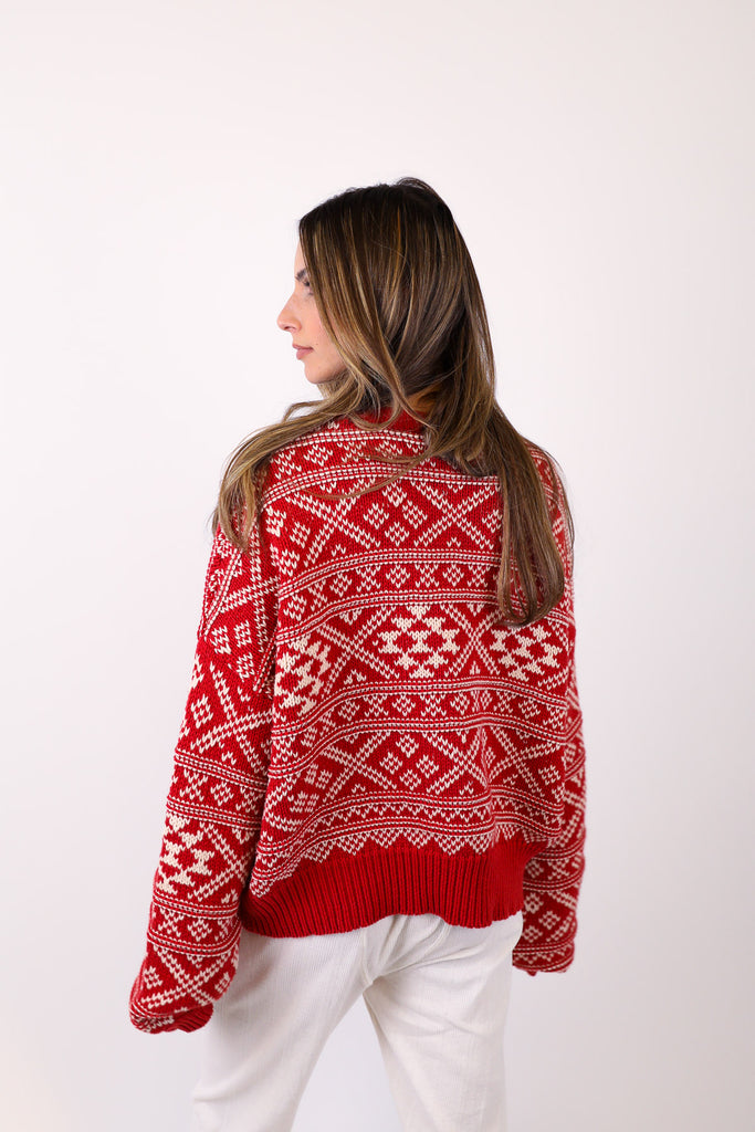 The Fair Isle Sweater