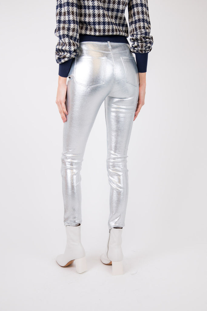 Madrid Highwaist Skinny Leather Pant
