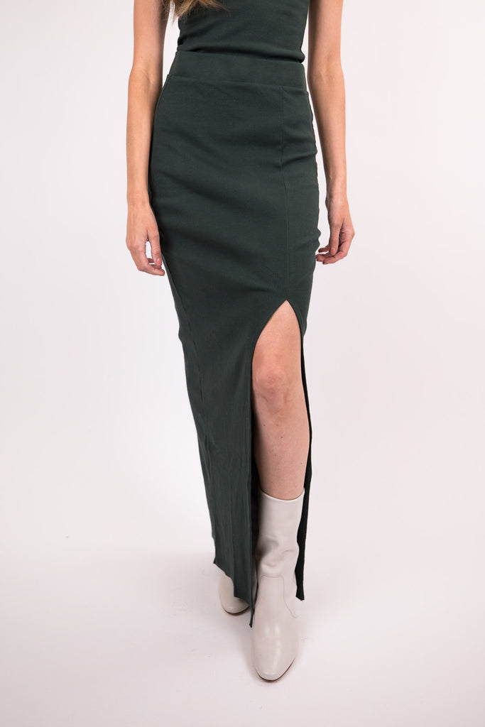 Arizia Slit Maxi Skirt