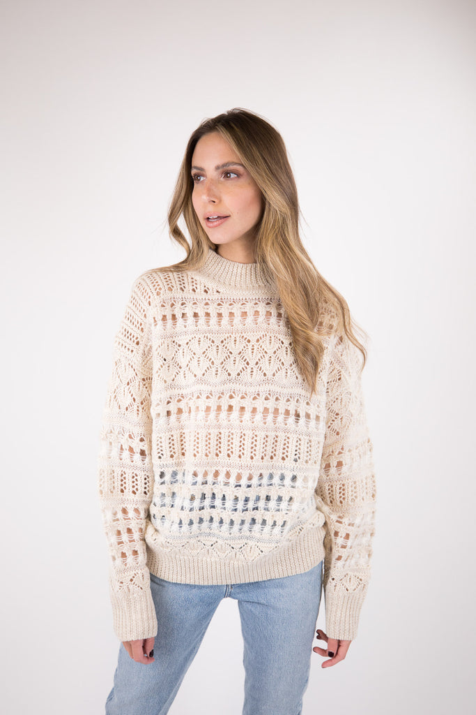 Pernille Lace Sweater