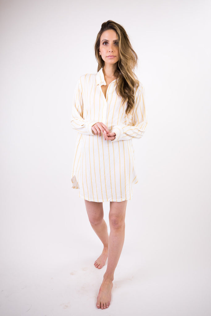 Summer Stripes Boyfriend Sleepshirt